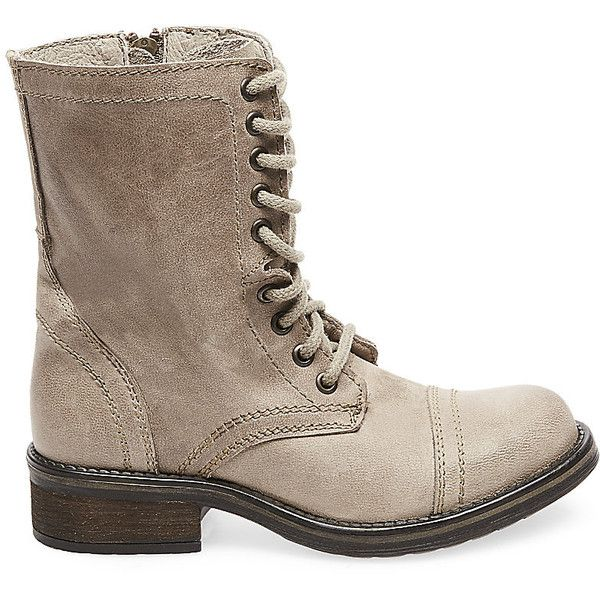 Steve Madden Women's TROOPA2-0 Boots ($90) ❤ liked on Polyvore featuring  shoes