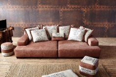 Ultsch Modell Cabana Lounge Sofa In Labrador Braun