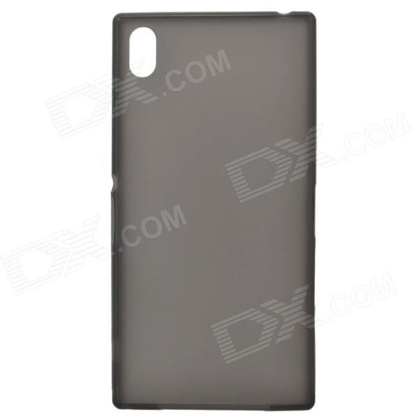 TEMEI Ultrathin Protective TPU Back Case for Sony L39h - Black