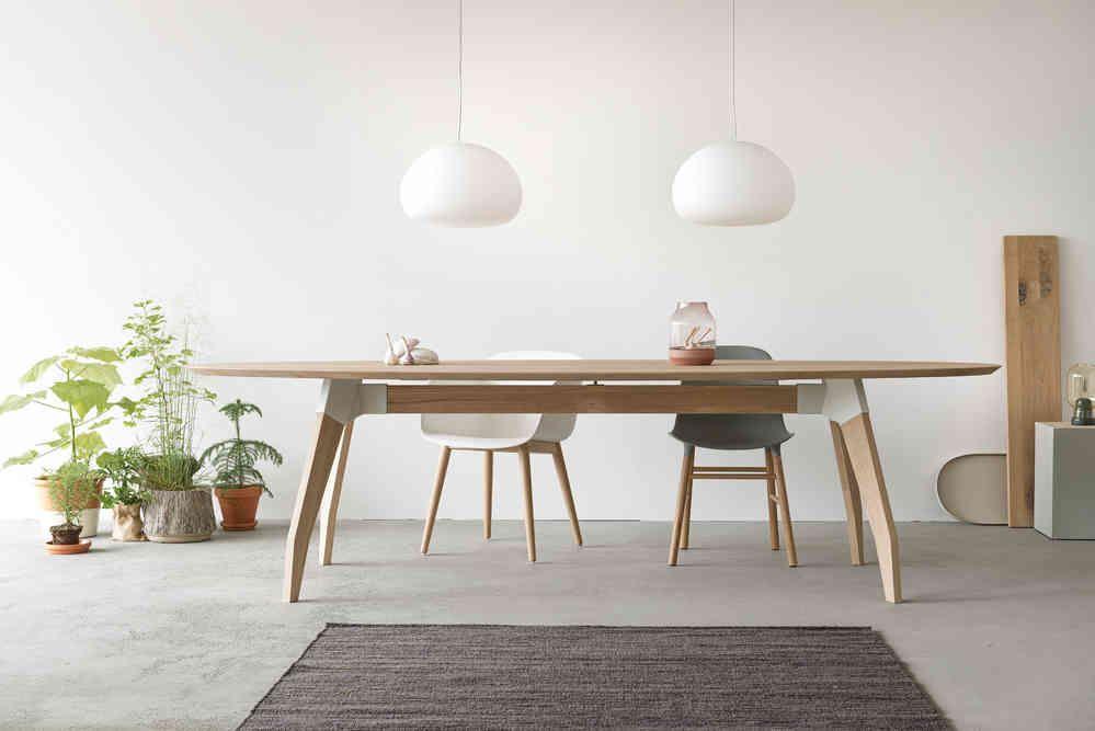 Eetkamer Massief Hout : Maatwerk tafel type lino uitvoering massief hout in 2019
