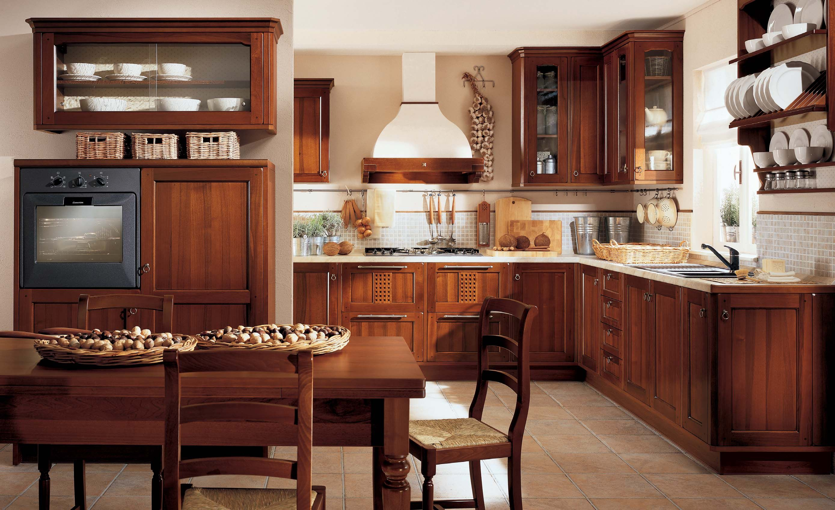Designs From Berloni » Small Classic Lirica Kitchen Interior