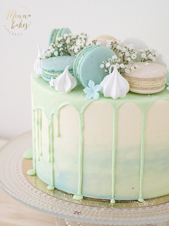 10 Dreamy Drip Cakes #21stbirthdaydecorations