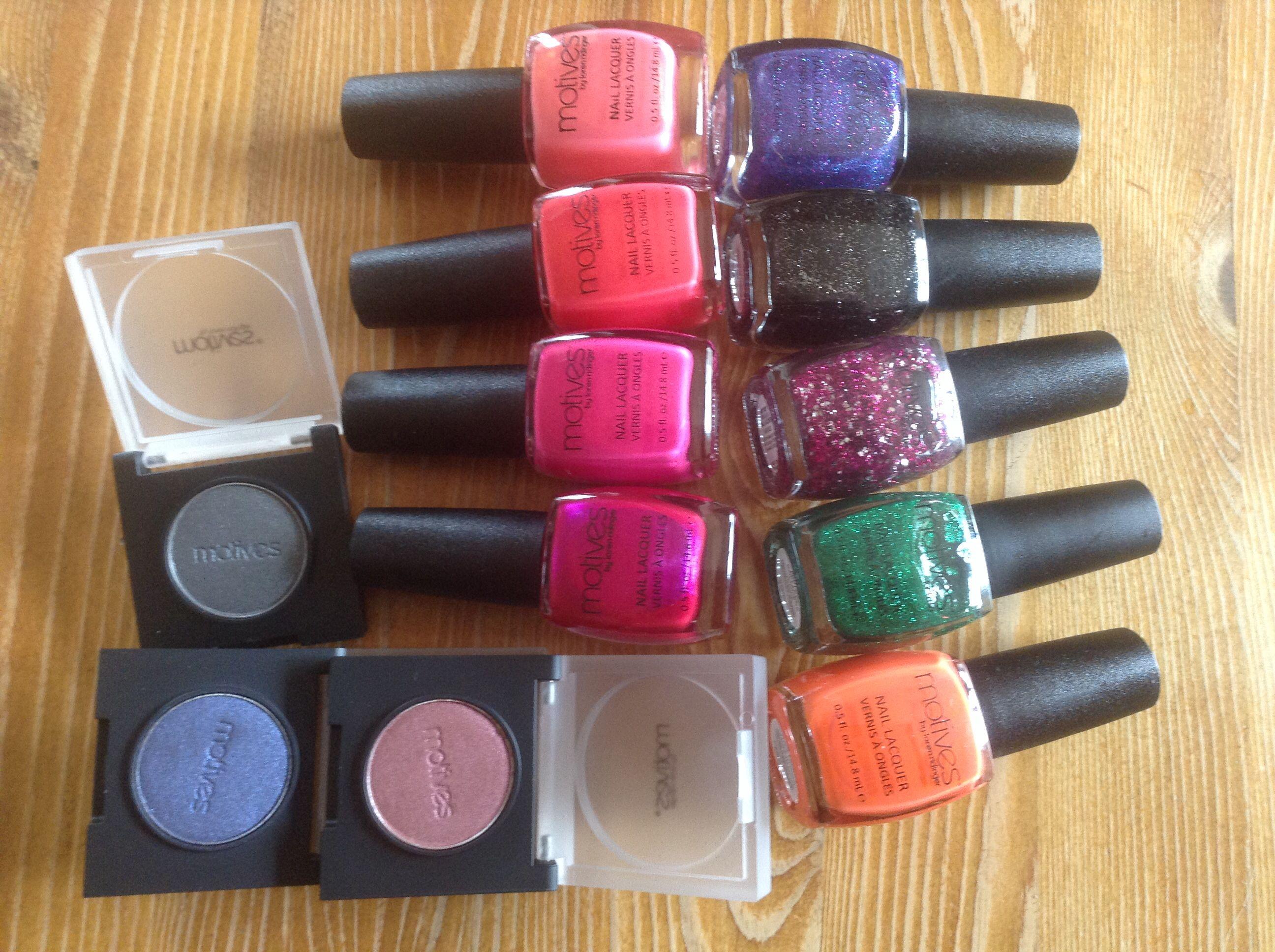 Motives nail lacquers and eyeshadows | Motives cosmetics by La La ...