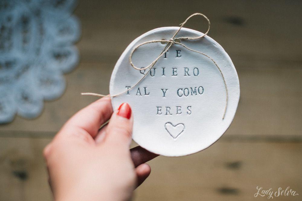 Lady Selva: Porta Alianzas personalizado para tu Boda. Wedding. Rind dish. Te quiero. Love. Handmade. Lady Selva shop. Shop: http://goo.gl/QepJLb