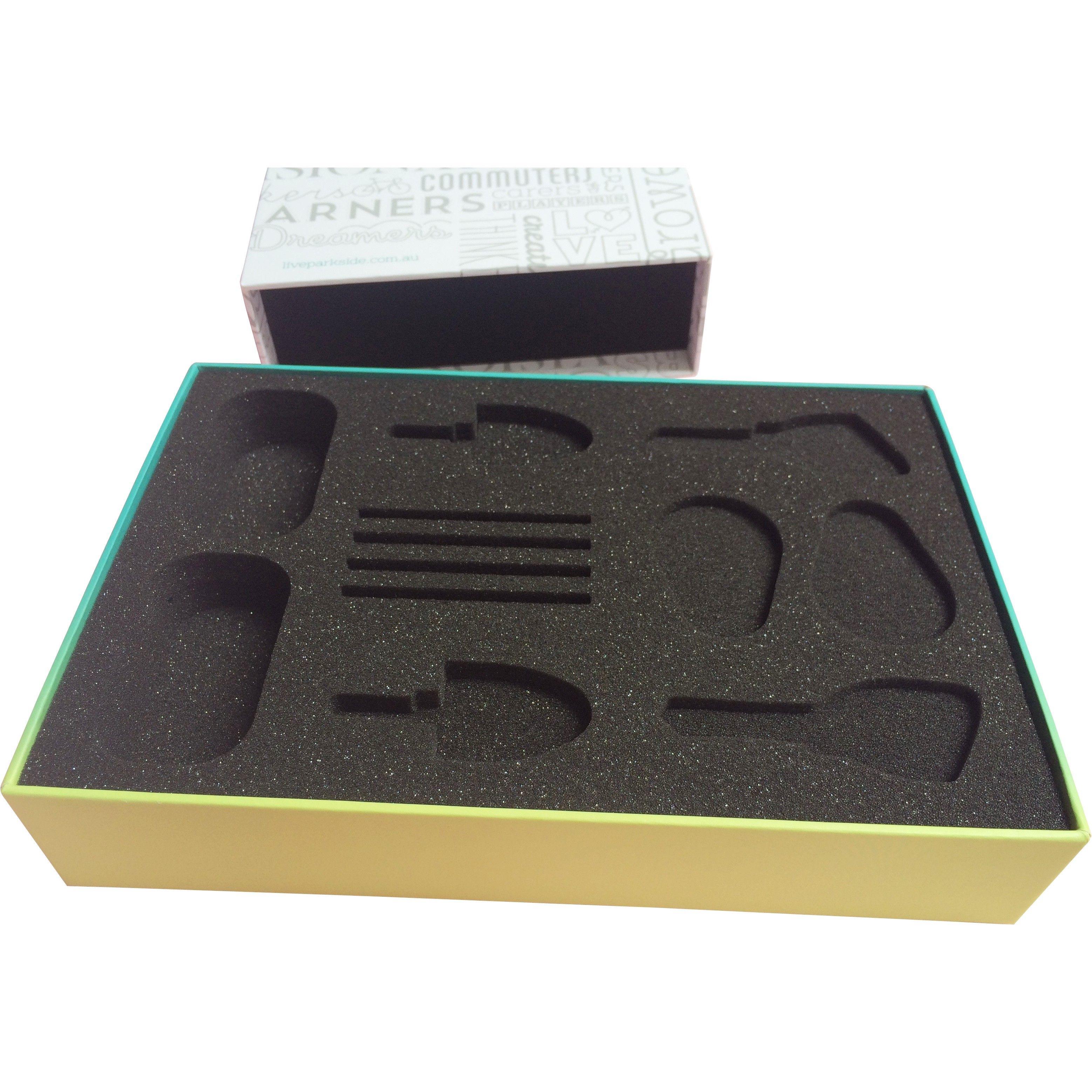 Rigid Box With Bespoke Foam Insert Handover Box Gift Box Custom Printed Boxes Custom Printed Bags Custom Boxes