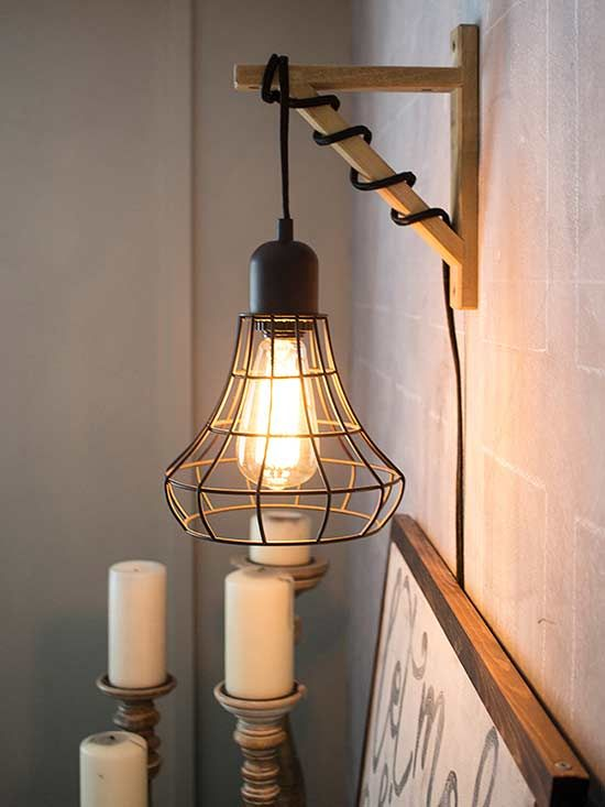 7 Brilliant Ways To Use Shelf Brackets Cage Light Elegant Bedroom Hanging Lights