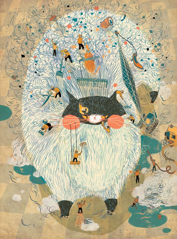 Wonderful Creatures by Victo Ngai