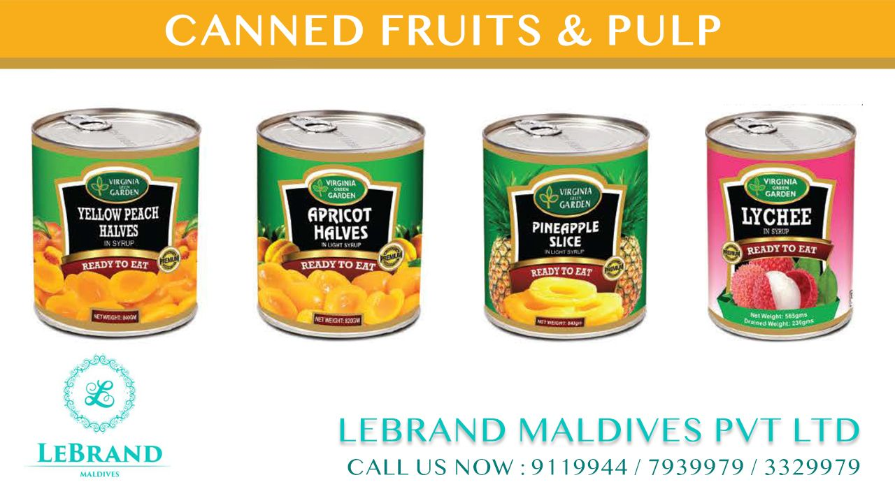 Canned Fruits & Pulp #Importer #Wholesale #Distributor Call