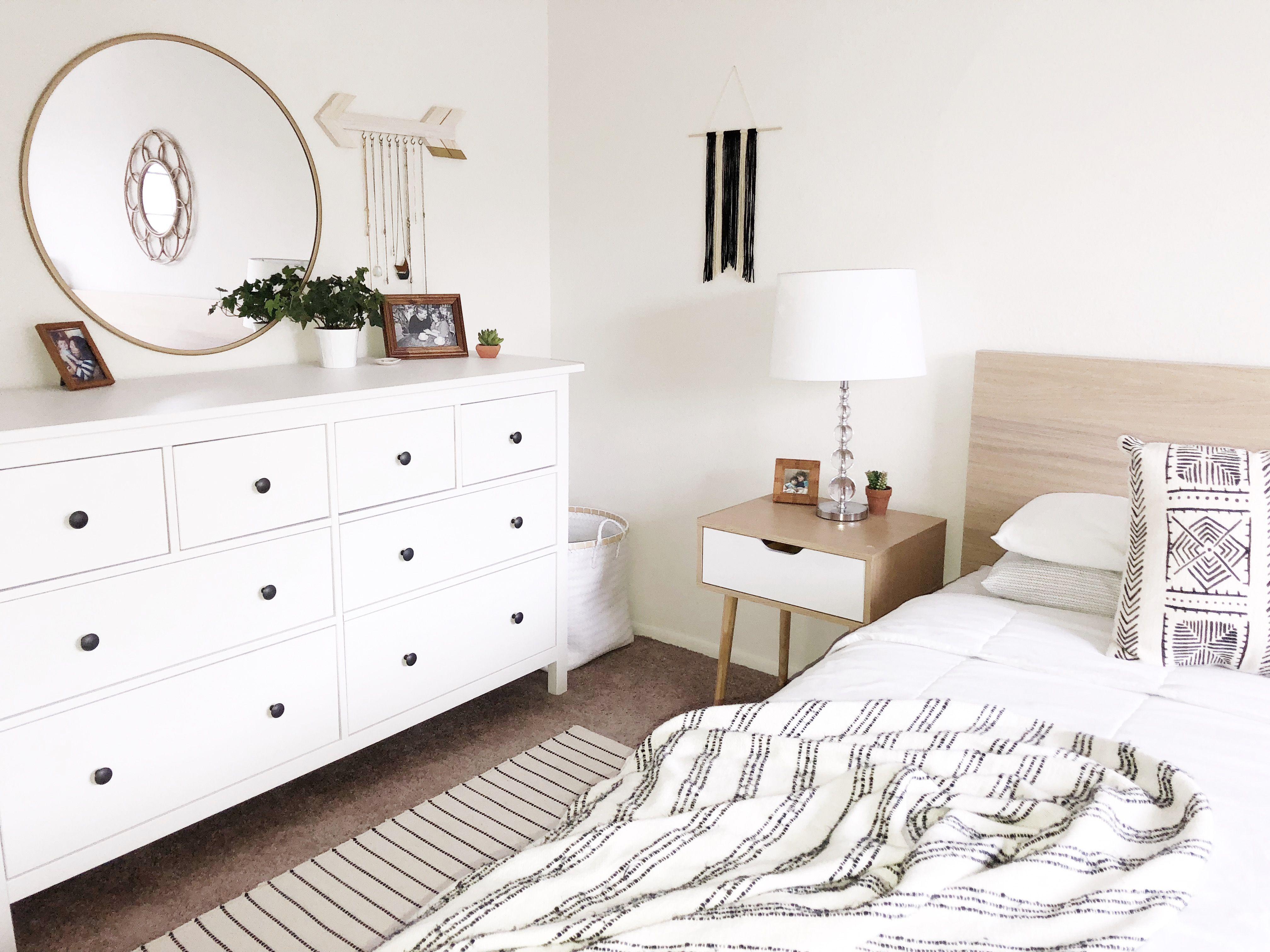 Light & Bright Bedroom  Romantic bedroom decor, Bedroom decor