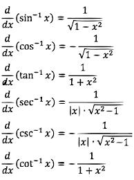 Image Result For Math Sheets For Derivative Of Trigonometric Ratios Maths Algebra Studying Math Physics And Mathematics