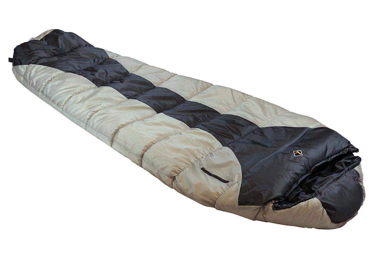 Ledge Sports River 0 F Degree Xl Oversize Mummy Sleeping Bag 86 X