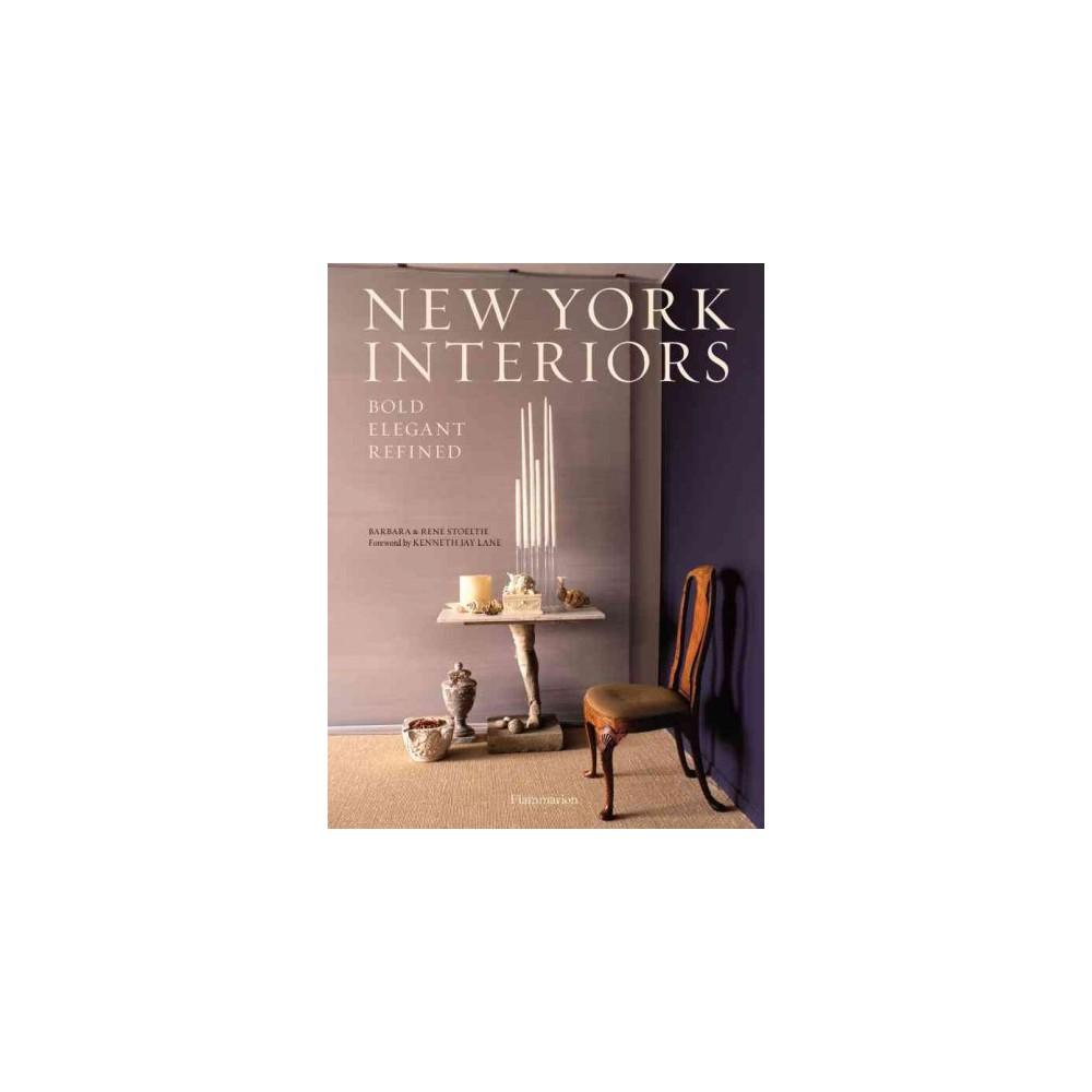 New York Interiors Bold Elegant Refined Hardcover