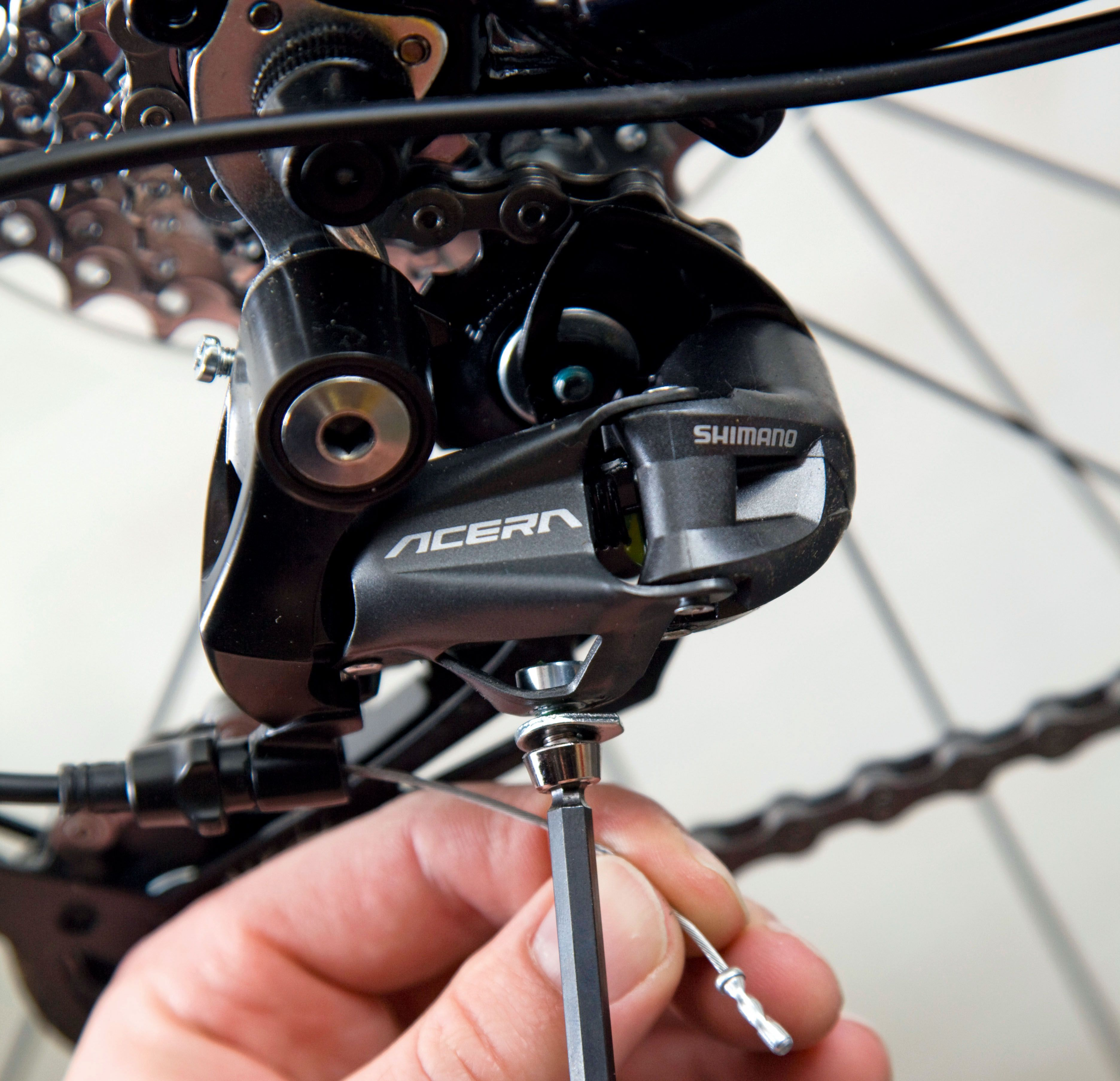 How To Adjust Your Front And Rear Derailleurs Videos Bicycle