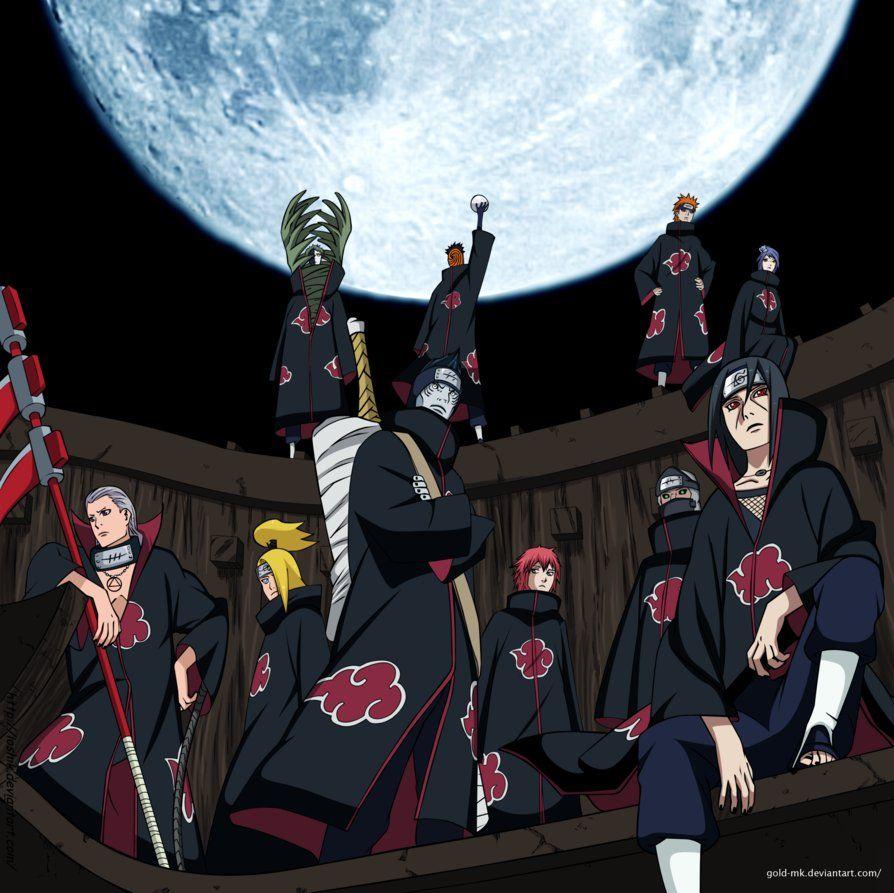 Картинка клана акацуки
