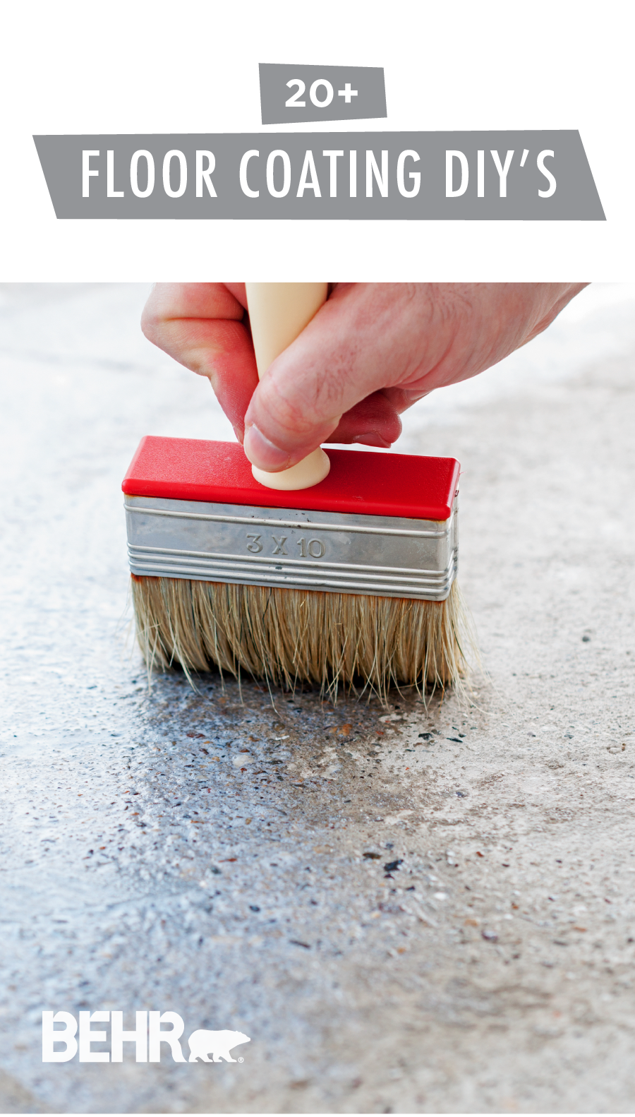 Painting the floor of your garage or concrete porch is an easy way to give the exterior of your home a quick sprucing up. Check out this collection of floor coating how-to articles from BEHR to learn everything you need to know about prepping your floor and applying the coating. Click here to learn more.