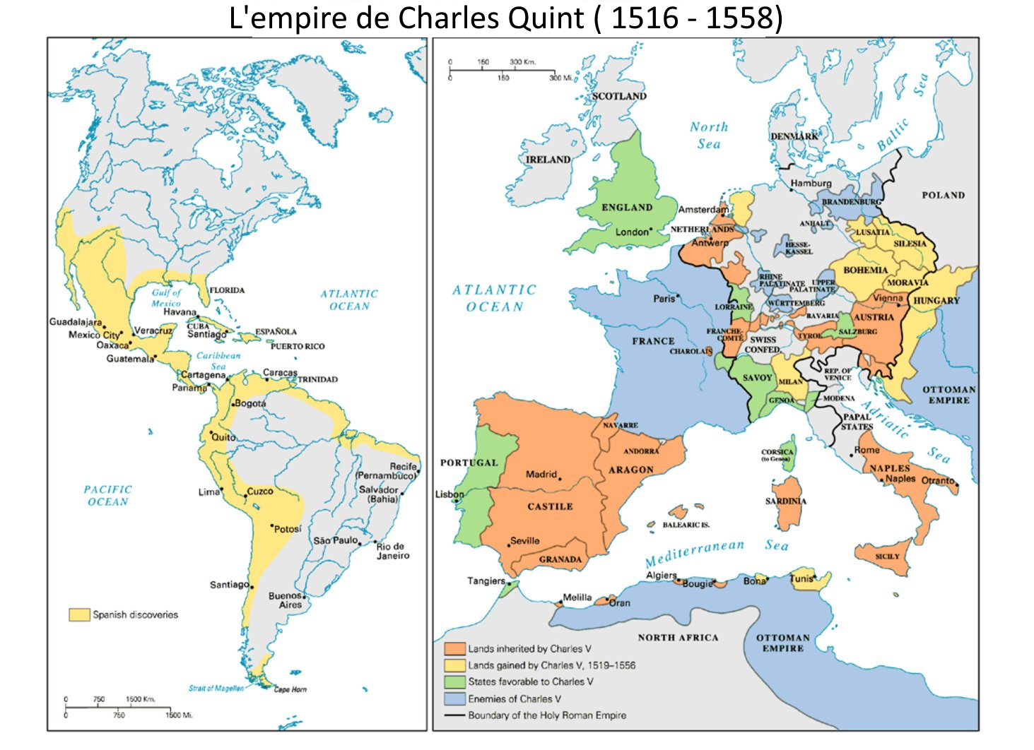 3 1 Le Monde Au Temps De Charles Quint Et Soliman Le Magnifique Hgndp Europe Map Map United Nations Peacekeeping