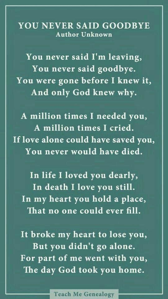 Missing Loved Ones Who Have Died Quotes Mesmerizing Pinjennifer Foote On Loss Of A Loved One  Pinterest