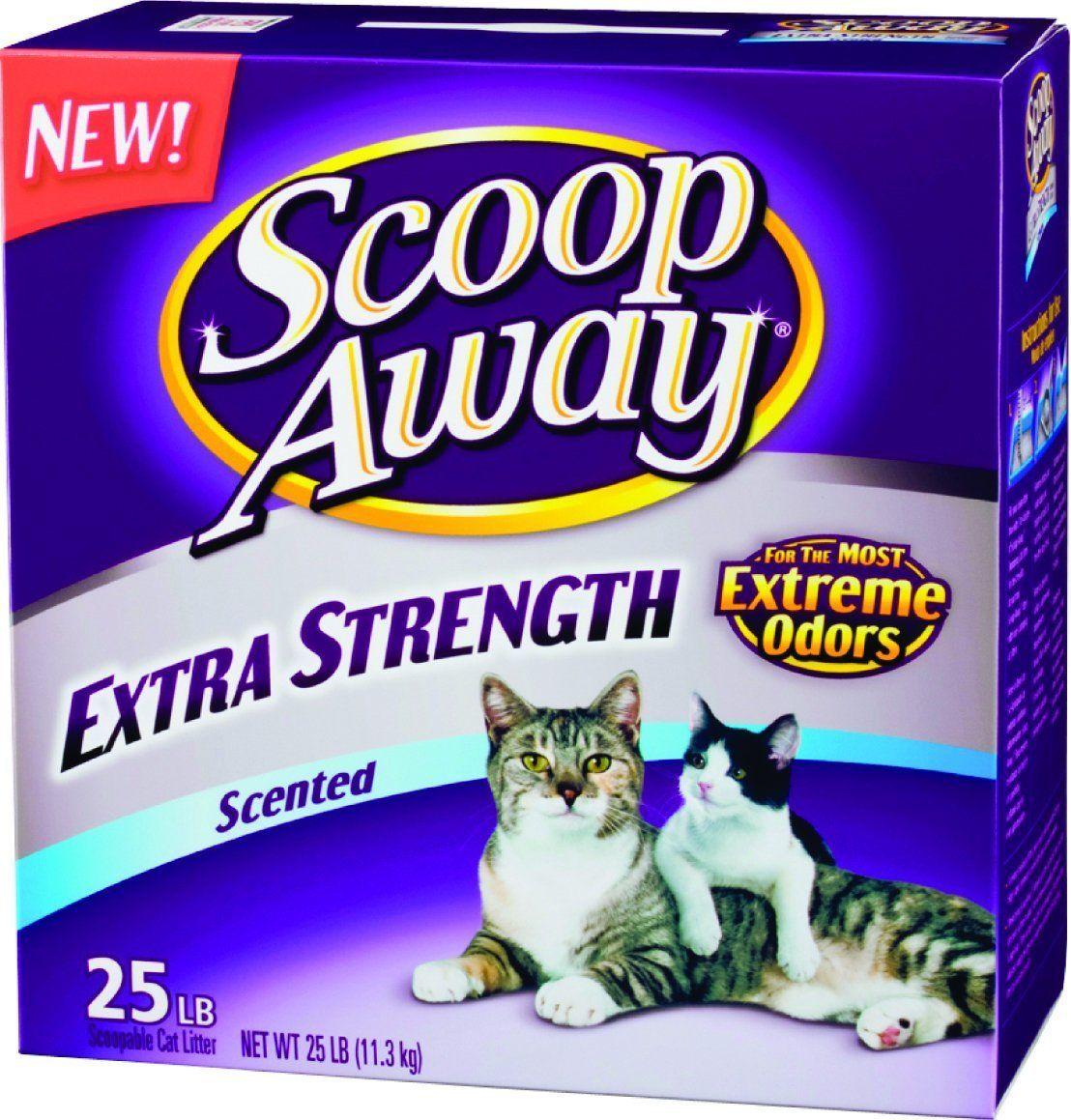 Scoop Away Extra Strength, Scented Litter 25 lb