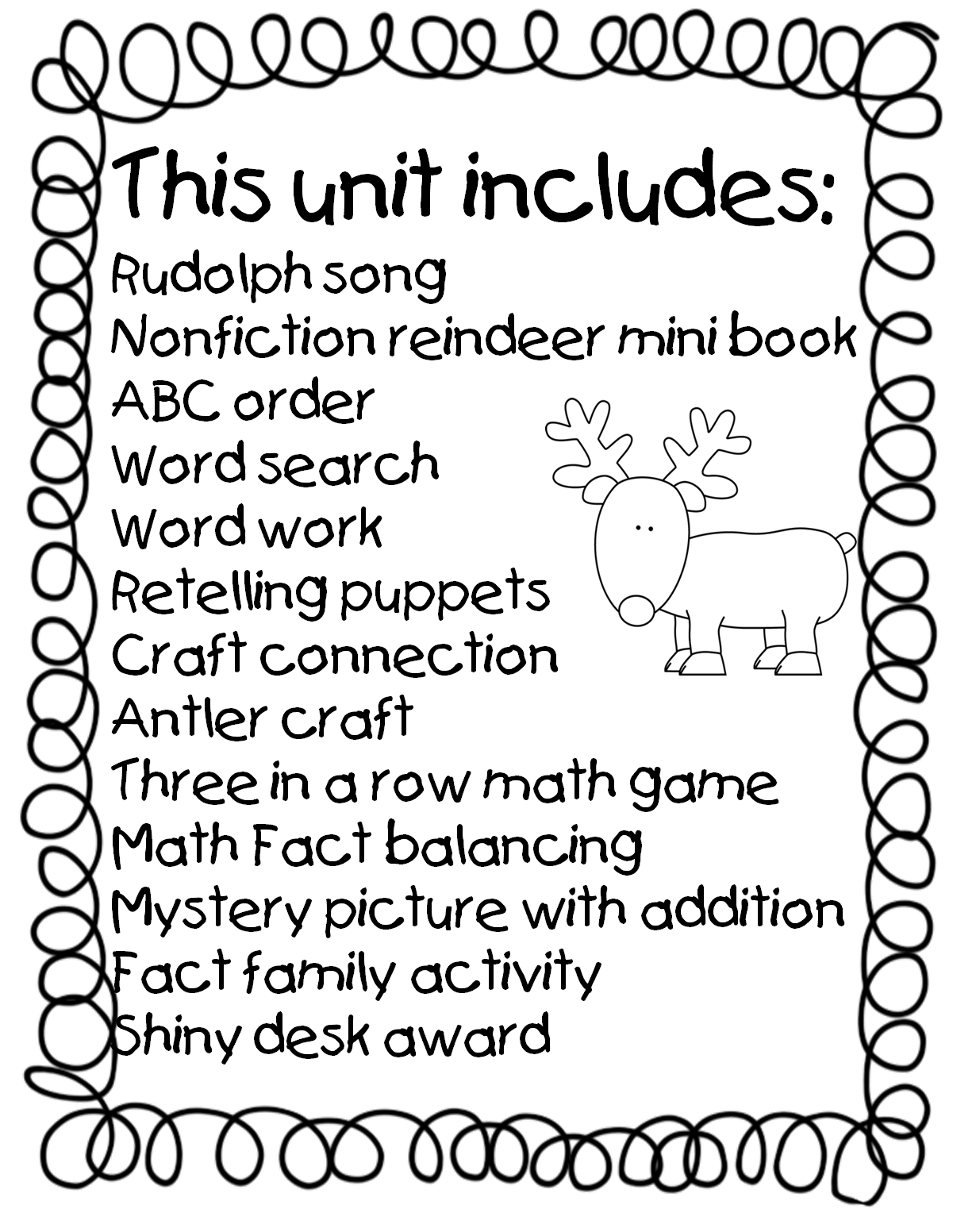 First Grade Wow: Reindeer Games | Classroom - Winter and Christmas ...