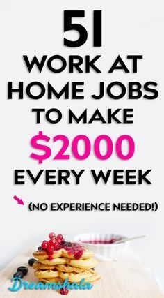 51 work from home jobs to make $2000 every week. hurry up now. #workathomejobs #workfromjobs #workfromhomecompanies #workfromhomecompaniesthatpayweekly #freelancingjobs