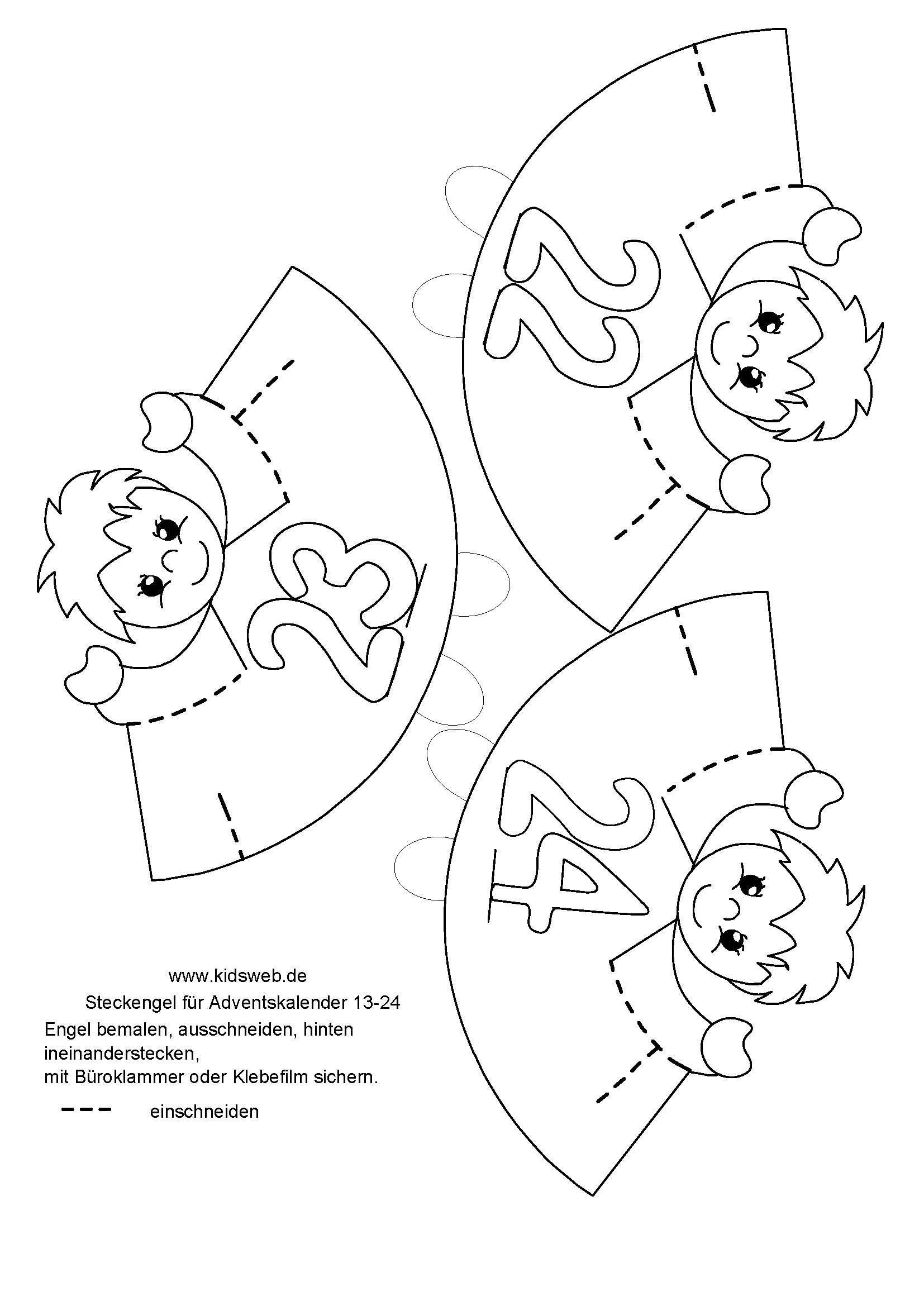 Kidsweb Weihnachtsbasteln.Advento Kalendorius Christmas Christmas Crafts Christmas Advent
