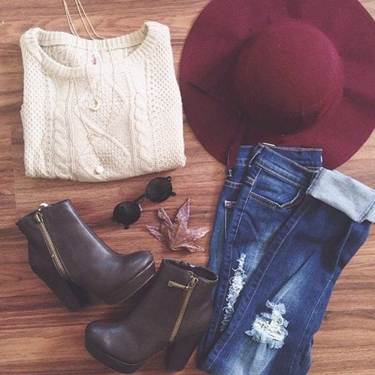 Perfect cozy knit for the fall.