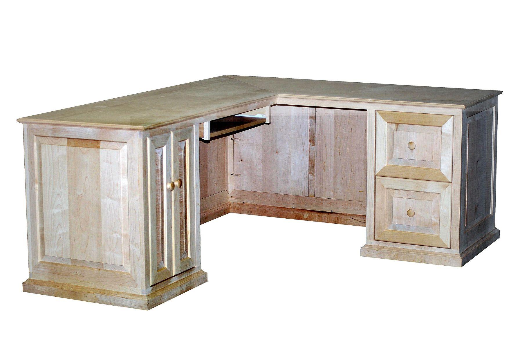 l shaped desk custom made maple l shaped desk study