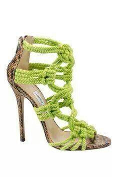 #jimmychoo #wrope #different #fashion #fashionista #limegreen #bright #spring #summer