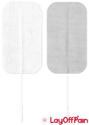 Axelgaard PALS Electrodes 3 x 4 Rectangle Pack of 2