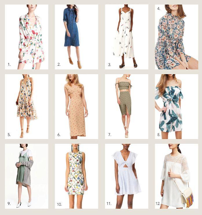 Spring Dresses. SS Trends 2017