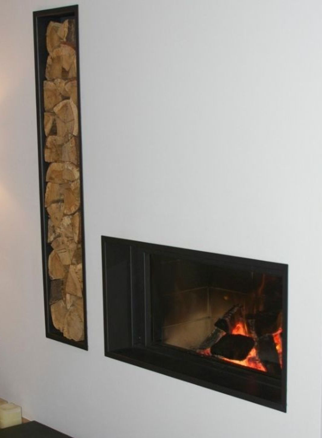 Love this log burner for the cave house in Spain. Unusual. | Log ...