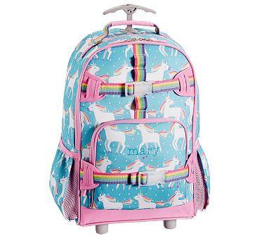 Mackenzie Aqua Unicorn Parade Backpack In 2020 Leather Backpack