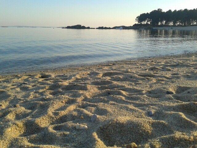 Playa de Cabío en A Pobra do Caramiñal