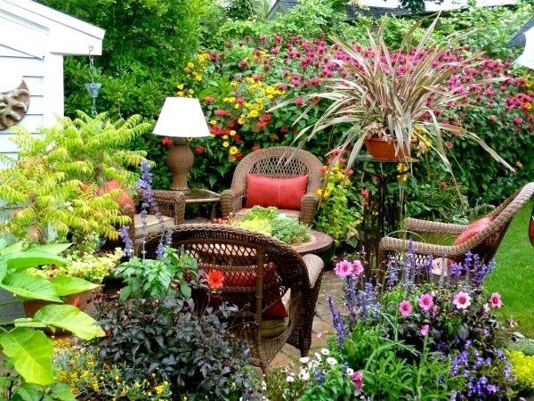 Brilliant Tropical Landscaping Ideas For Small Backyard Home Design Houzz  Tropical Miami Garden Patio Landscape Design
