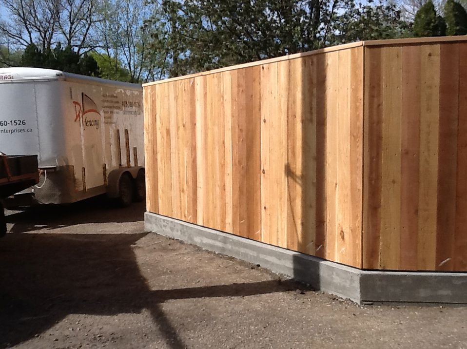 fence footings - Google Search