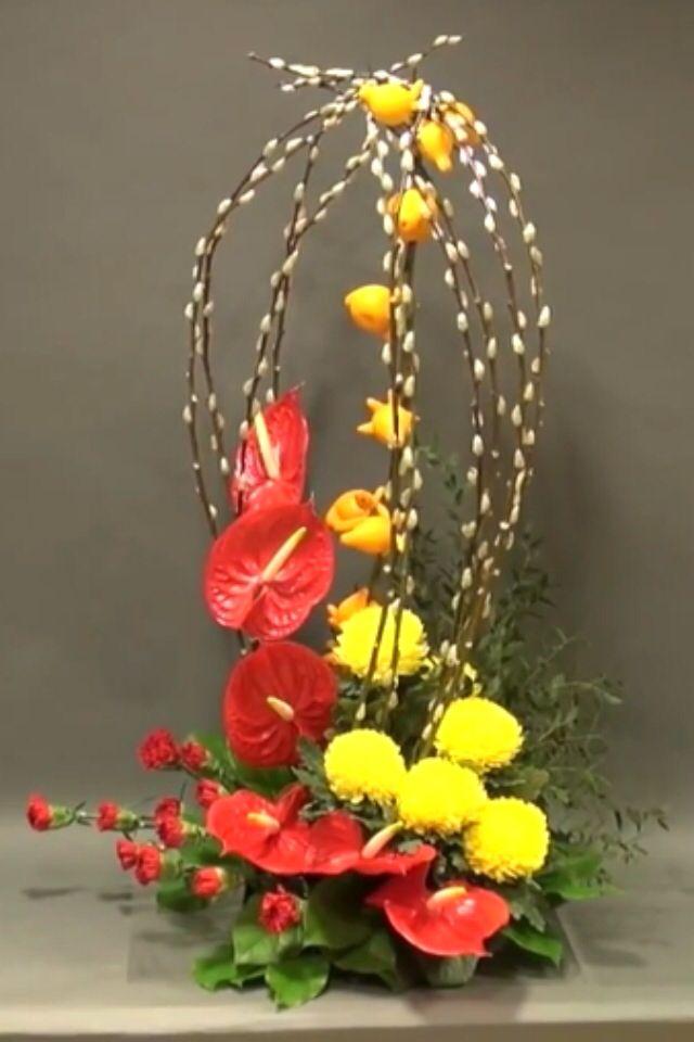 Pin by allyson chong on flower flower arrangement pinterest tropical flower arrangements fruit arrangements tropical flowers chinese flowers japanese flowers silk flowers fresh flowers beautiful flowers mightylinksfo
