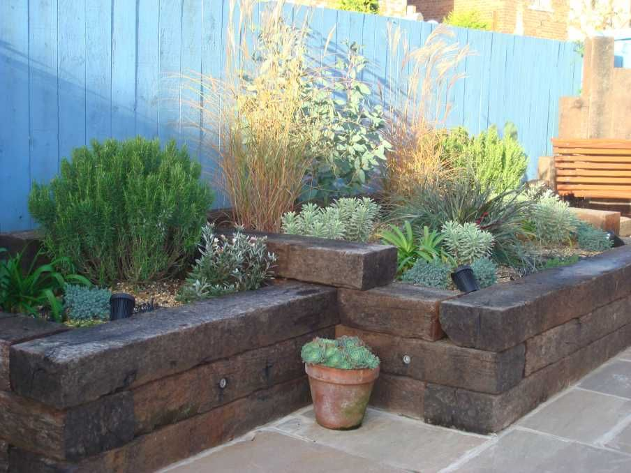 railway sleeper ideas - Bing Images | Garden ideas