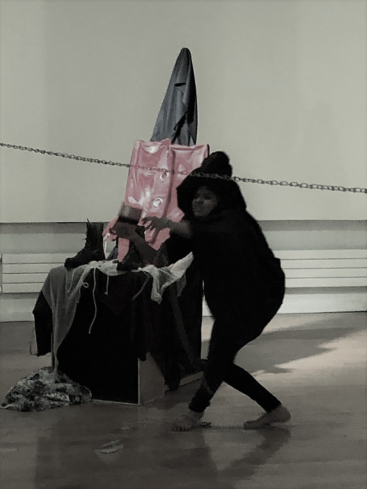 Performance Art Kripa Radhakrishnan in 2020