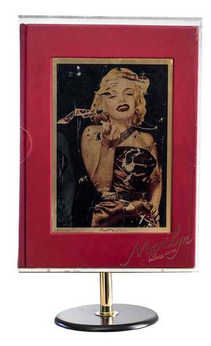 Mimmo Rotella - Marilyn, Bellezza Eterna (Marilyn, Eternal Beauty) - Catawiki