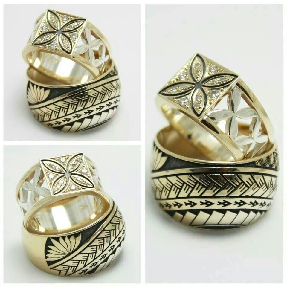 Seventy six design Samoan inspired rings Rings Pinterest Ring