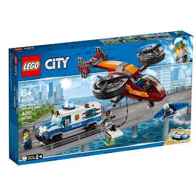 Lego City Sky Police Diamond Heist 60209 In 2019 Products Lego City Police Lego City Lego City Police Sets