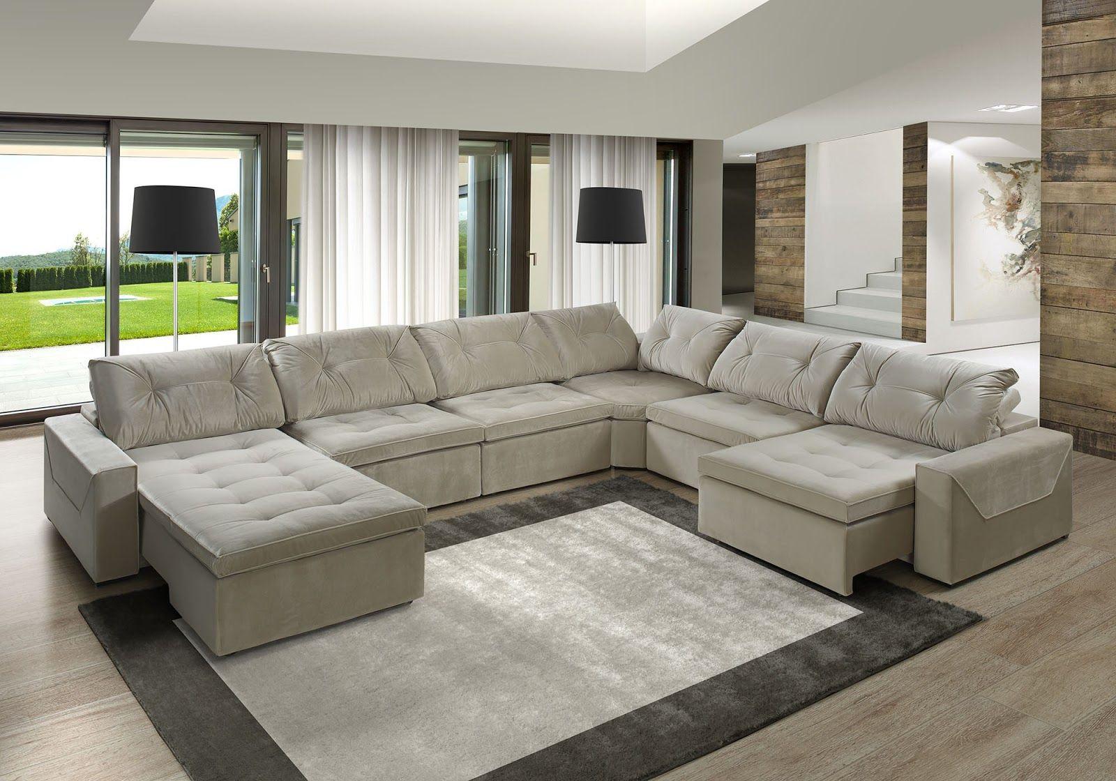 Sofas De Canto Em L Home Decor In 2019 House Furniture Design