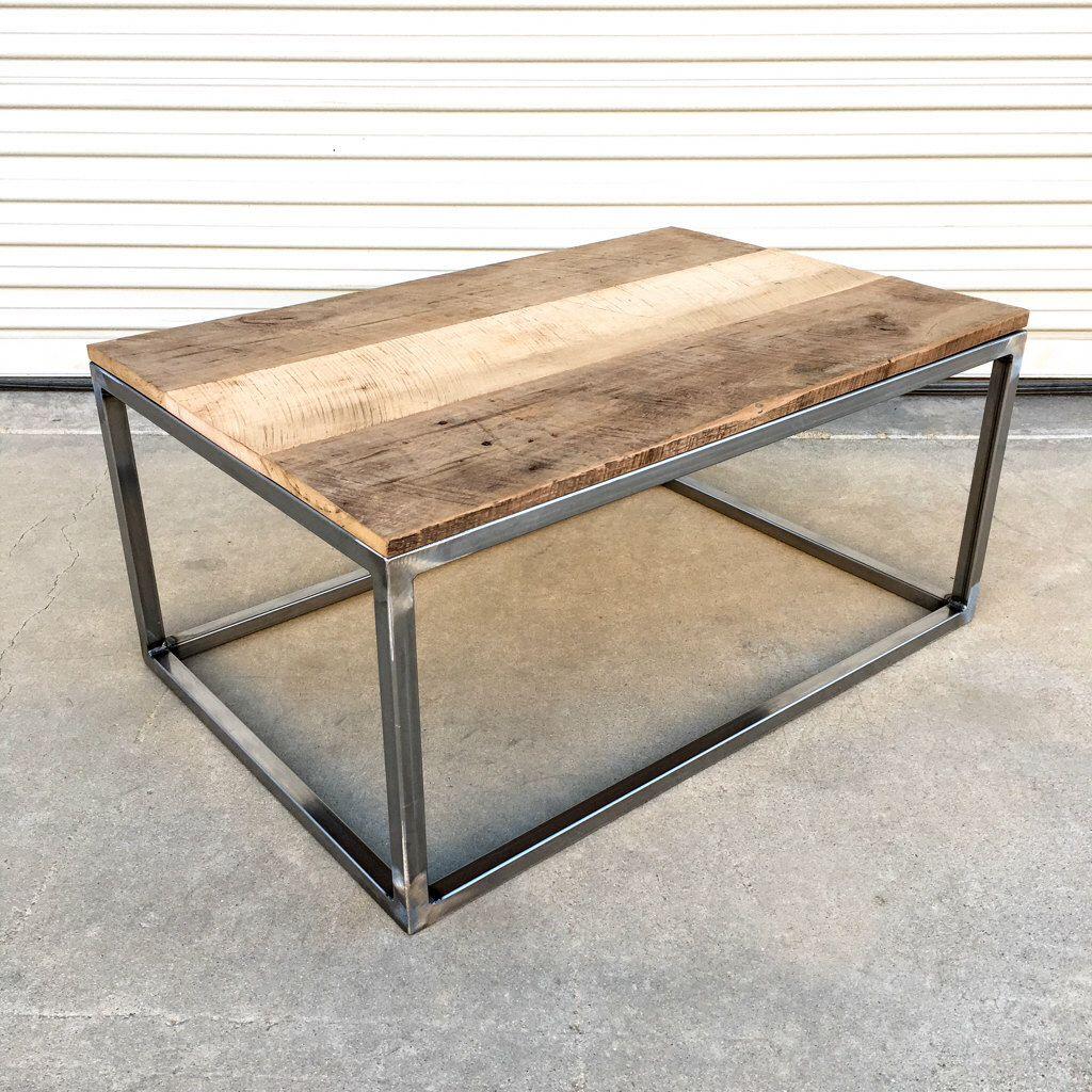 Estilo industrial recuperado granero de madera y mesa de for Mesa estilo industrial
