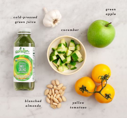 Cucumber Apple Green Gazpacho / loveandlemons.com