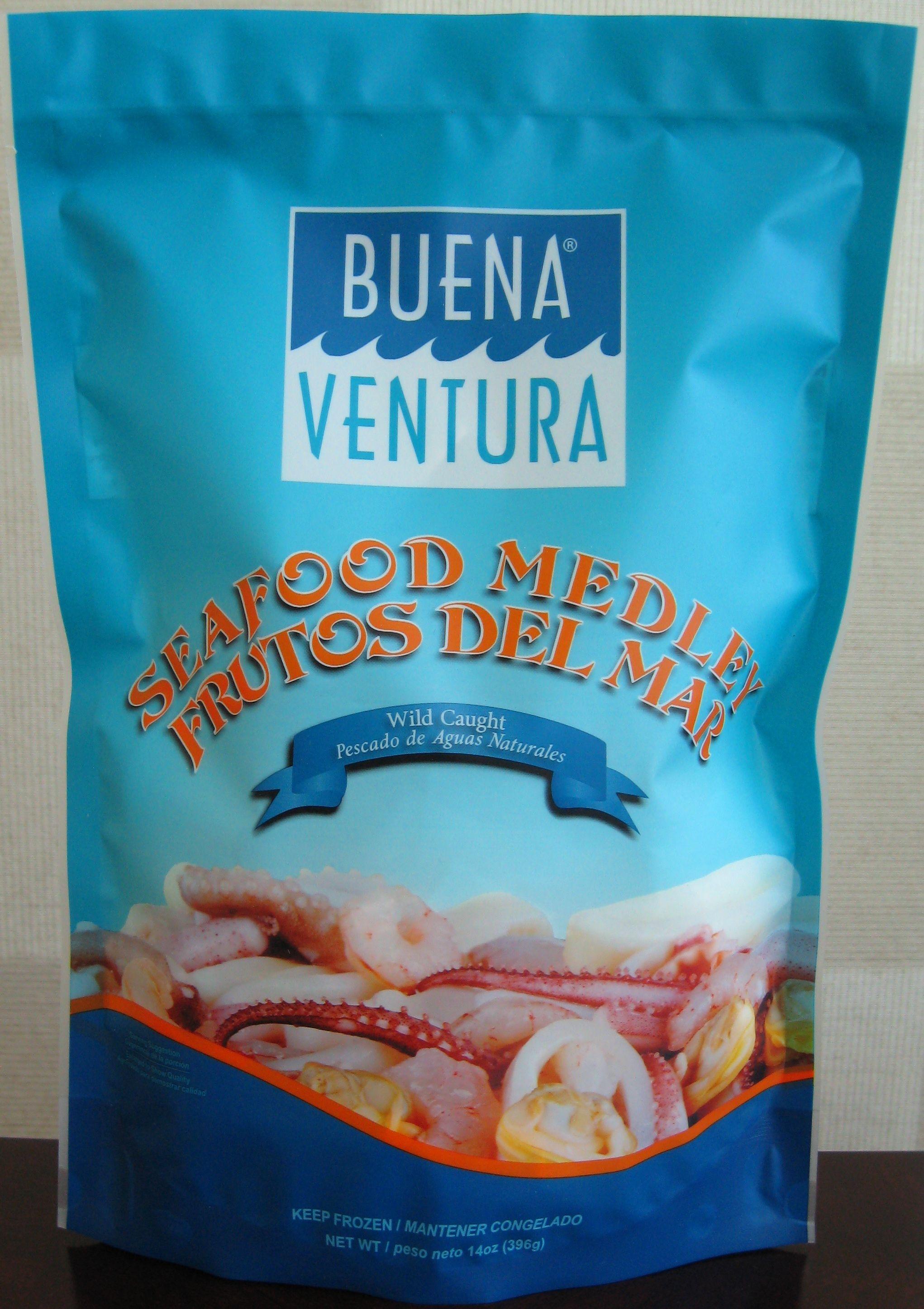 Buena Ventura 14oz Seafood Medley #SeafoodMix #SeafoodMedley #Mixta