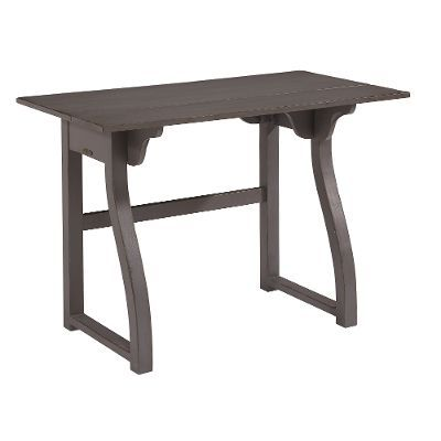 43 Inch Magnolia Home Furniture Elements Gray Small Writing Desk For Our Home Small Writing