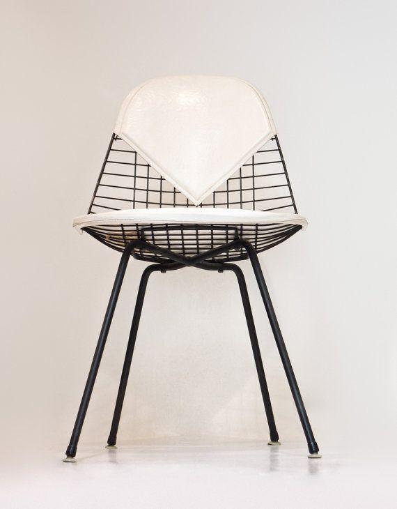 Herman Miller Charles Eames Wire Chair Hbase By RepurposedModern
