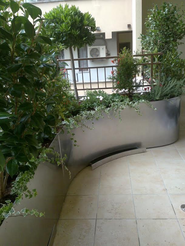 Realizzazione terrazzo verde - Milano (MI)   Terrazzi   Pinterest ...