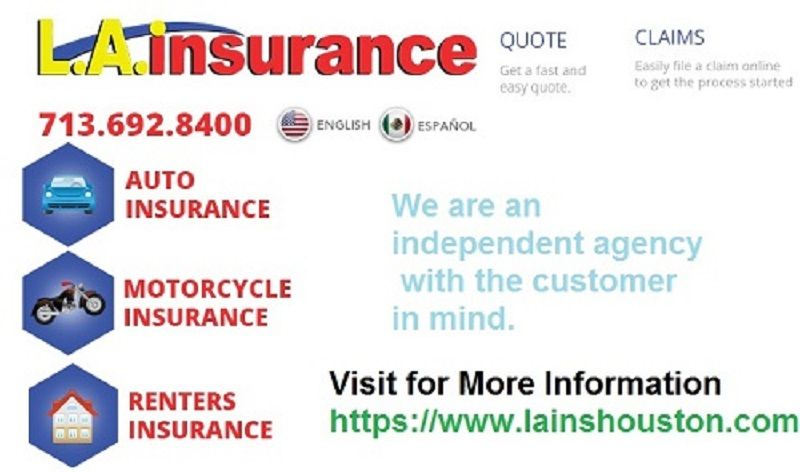 Get Your Best Quotes In Huston With Our Agency La Insurance With