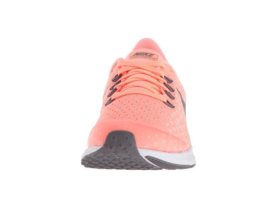 75db78bacb91f2 Nike Kids Air Zoom Pegasus 35 (Little Kid Big Kid) Girls Shoes Crimson Tint  Gunsmoke Crimson Pulse